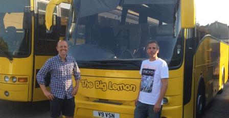 Joshua (Sussex Backup) and Tom Druitt from The Big Lemon
